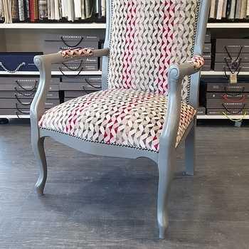 Réfection d''un fauteuil Voltaire - Département 22