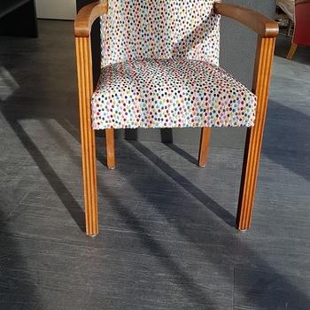 Réfection totale d''un fauteuilBridge - Région de Saint Brieuc